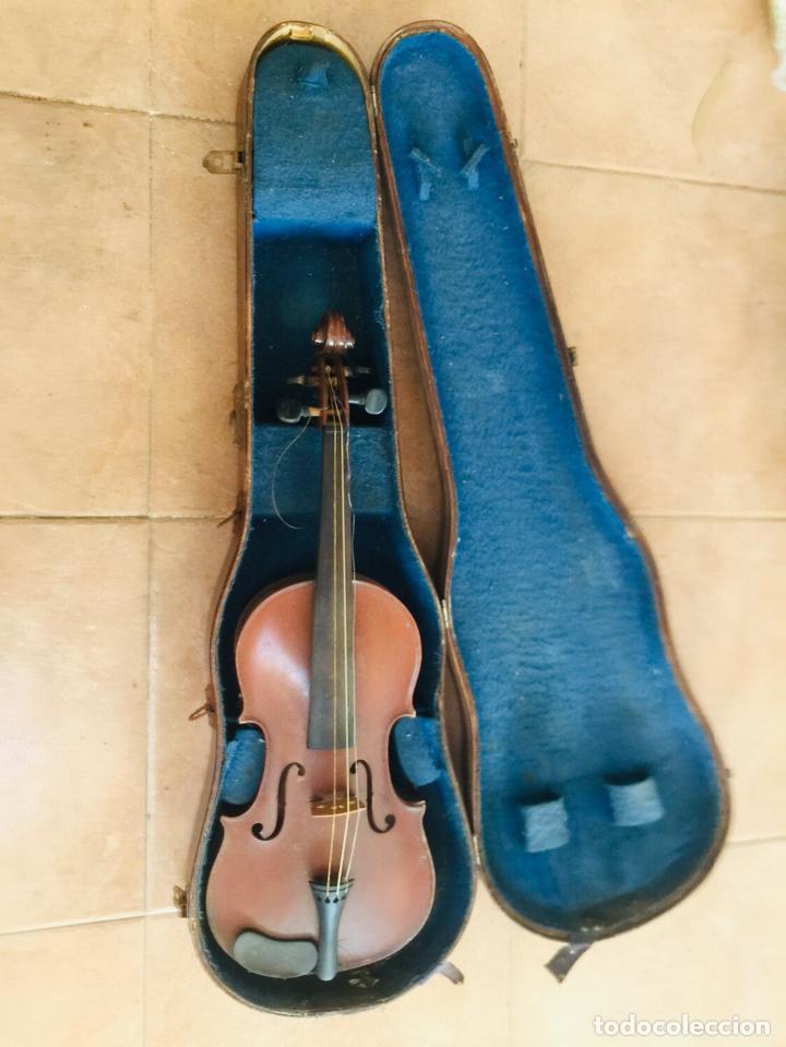 Instrumentos musicales: Violin frances para restaurar Copie de Nicolaus amatus - Foto 3 - 222712765