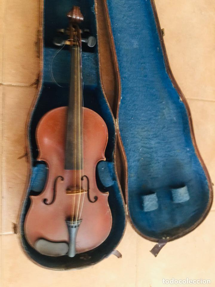 Instrumentos musicales: Violin frances para restaurar Copie de Nicolaus amatus - Foto 4 - 222712765