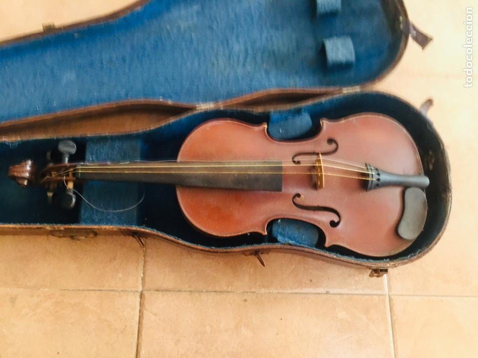 VIOLIN FRANCES PARA RESTAURAR COPIE DE NICOLAUS AMATUS (Música - Instrumentos Musicales - Cuerda Antiguos)