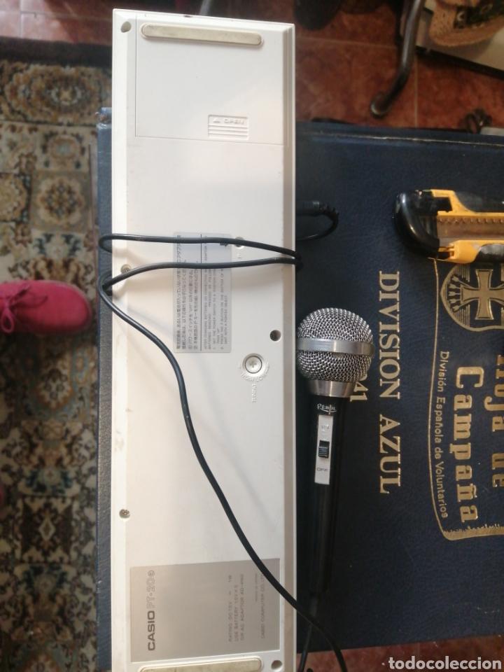 Instrumentos musicales: casio pt 20 con micro - Foto 2 - 213905996