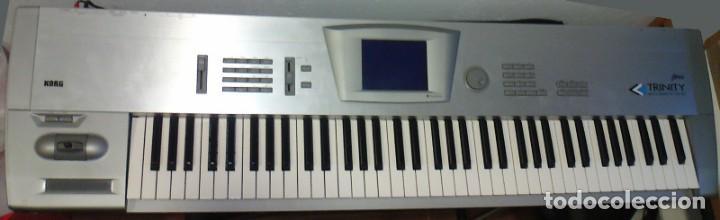 Instrumentos musicales: Sintetizador Korg Trinity Pro de 76 teclas. - Foto 3 - 223140996