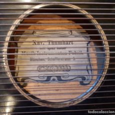 Instrumentos musicales: CÍTARA ANTIGUA ALEMANA THUMHART MÜNCHEN ~ ANTIQUE GERMAN ZITHER THUMHART MÜNCHEN. Lote 26604471