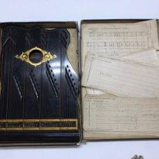 Instruments Musicaux: ARPA/CÍTARA ANTIGUA FAUDEL HECHA EN LONDRES S XIX/XX CON PARTITURAS Y CAJA ORIGINAL. Lote 223215120