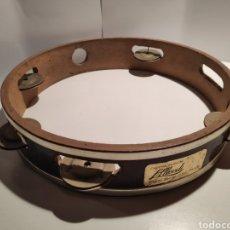 Instrumentos musicales: ANTIGUA PANDERETA, AÑOS 50, ALBERDI, PALMA DE MALLORCA.. Lote 223261412