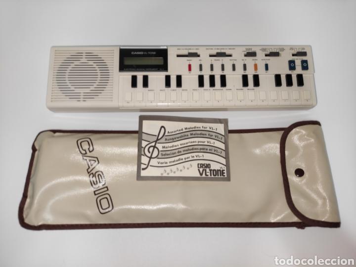TECLADO PIANO CASIO VL-TONE EN EXCELENTE ESTADO CON SU BOLSA E INSTRUCCIONES ANTIGUO VINTAGE (Música - Instrumentos Musicales - Pianos Antiguos)