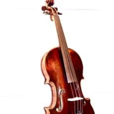 Instrumentos musicales: VIOLÍN FRANCÉS DE LA PRIMERA MITAD DE SIGLO XIX AUTOR NICOLÁS AINE MUY BUEN SONIDO. Lote 223850133