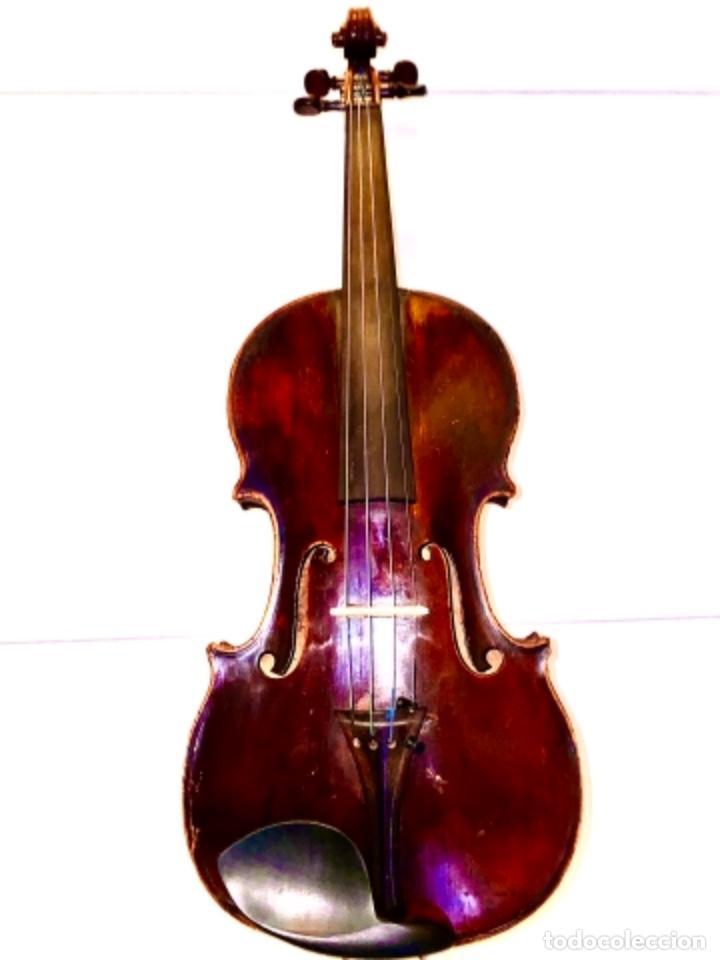 Instrumentos musicales: Violín Francés de la primera mitad de siglo XIX Autor Nicolás Aine muy buen sonido - Foto 2 - 223850133