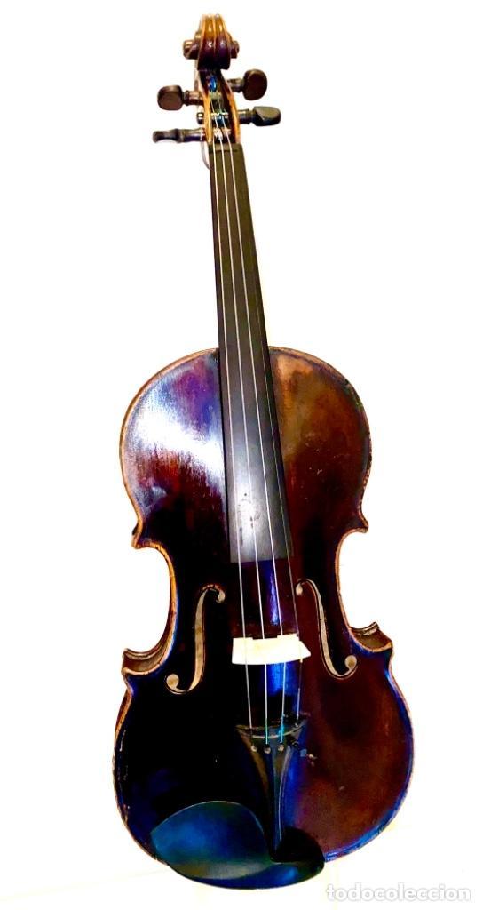 Instrumentos musicales: Violín Francés de la primera mitad de siglo XIX Autor Nicolás Aine muy buen sonido - Foto 3 - 223850133