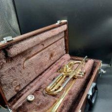 Instrumentos musicales: ANTIGUA TROMPETA YAMAHA. Lote 223868093