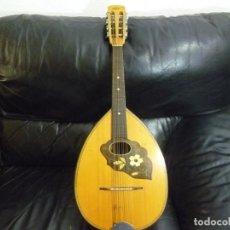 Instrumentos musicales: MANDOLA ANTIGUA ALEMANA 74CM. Lote 223902602