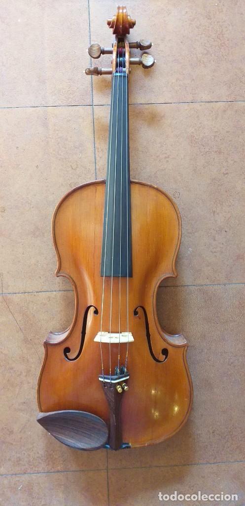 VIOLA MICHAEL DOTSCH DE 1904 (Música - Instrumentos Musicales - Cuerda Antiguos)