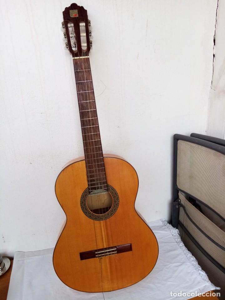 GUITARRA ESPAÑOLA DE FLAMENCO MARCA ALHAMBRA. MODE 3F (Música - Instrumentos Musicales - Guitarras Antiguas)