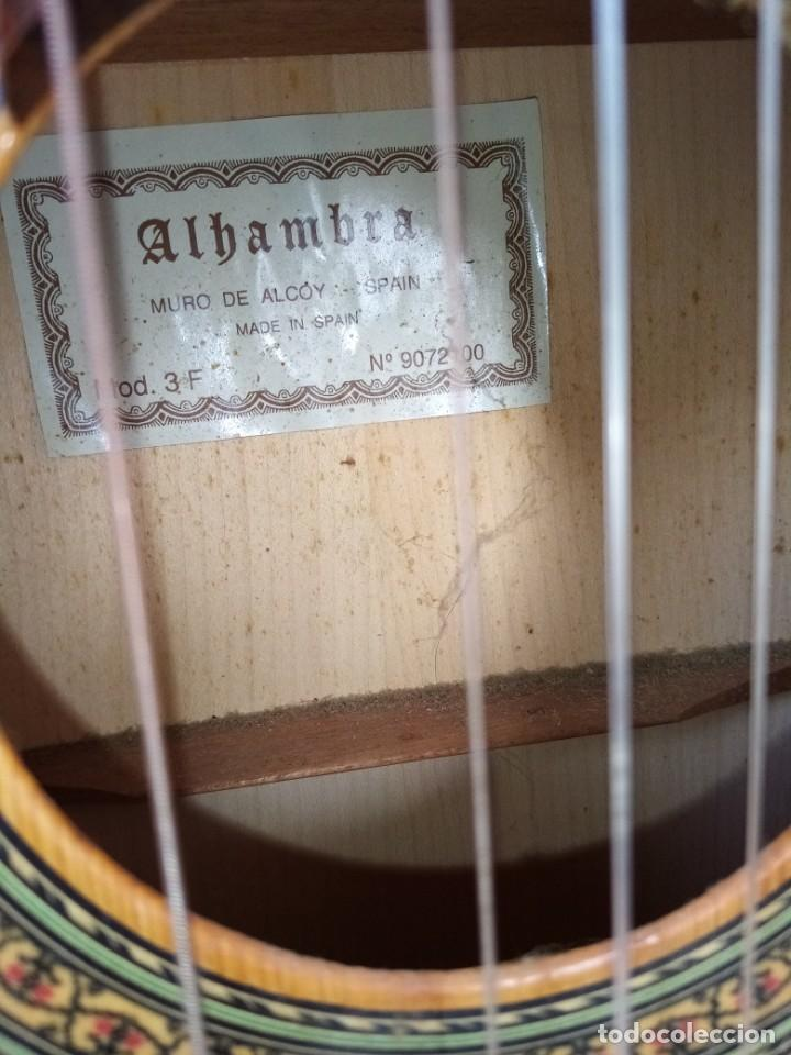 Instrumentos musicales: Guitarra española de flamenco marca ALHAMBRA. mode 3f - Foto 2 - 223933408