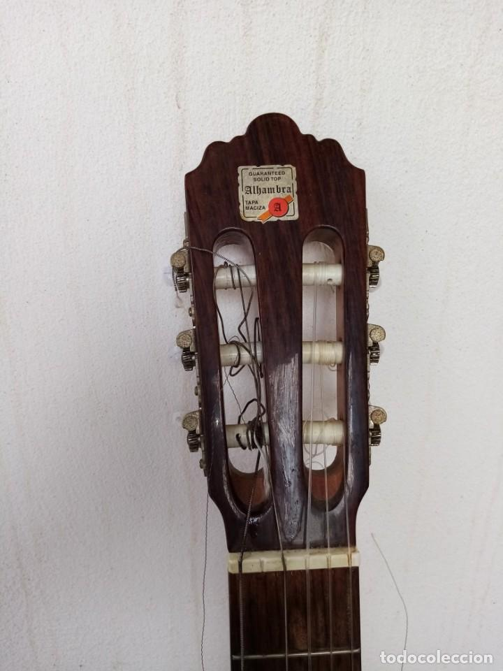 Instrumentos musicales: Guitarra española de flamenco marca ALHAMBRA. mode 3f - Foto 3 - 223933408