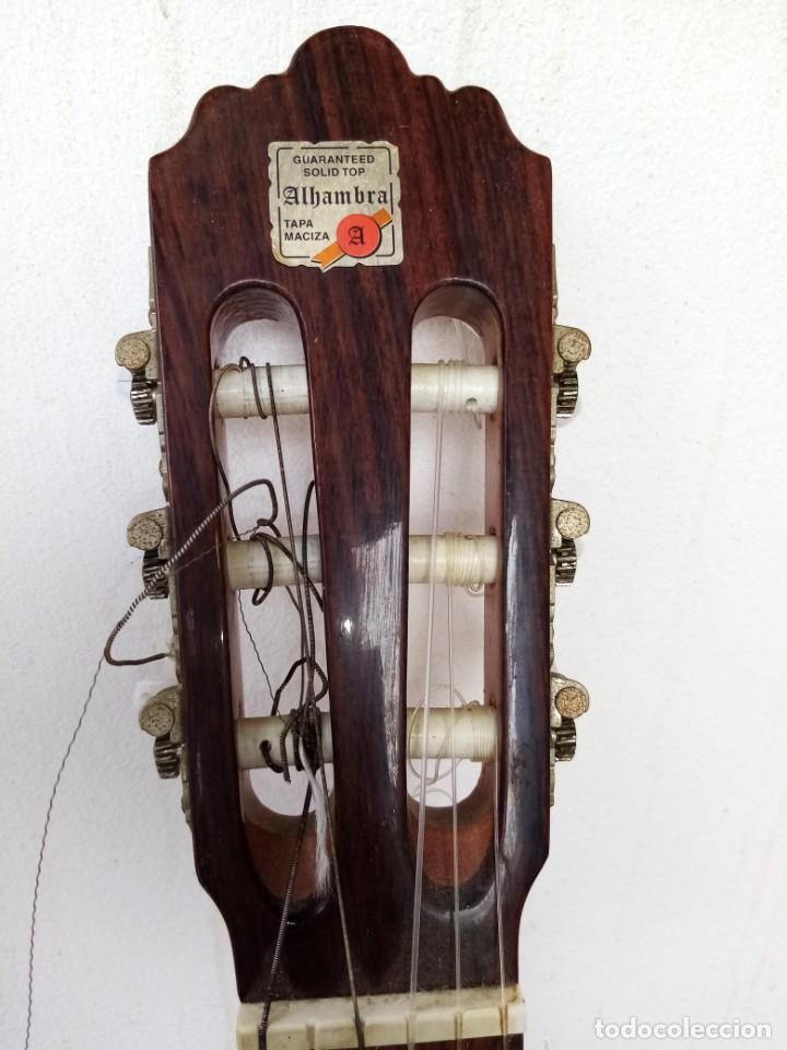 Instrumentos musicales: Guitarra española de flamenco marca ALHAMBRA. mode 3f - Foto 6 - 223933408