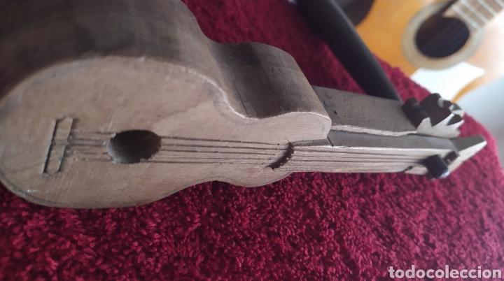 Instrumentos musicales: Antiguo Instrumento musical denominado carraca o matraca típico de la Semana Santa Madera labrada - Foto 6 - 224176232