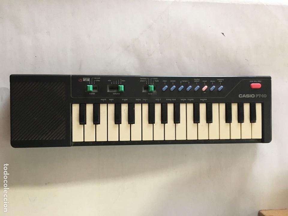 CASIO PT-10 (Música - Instrumentos Musicales - Teclados Eléctricos y Digitales)