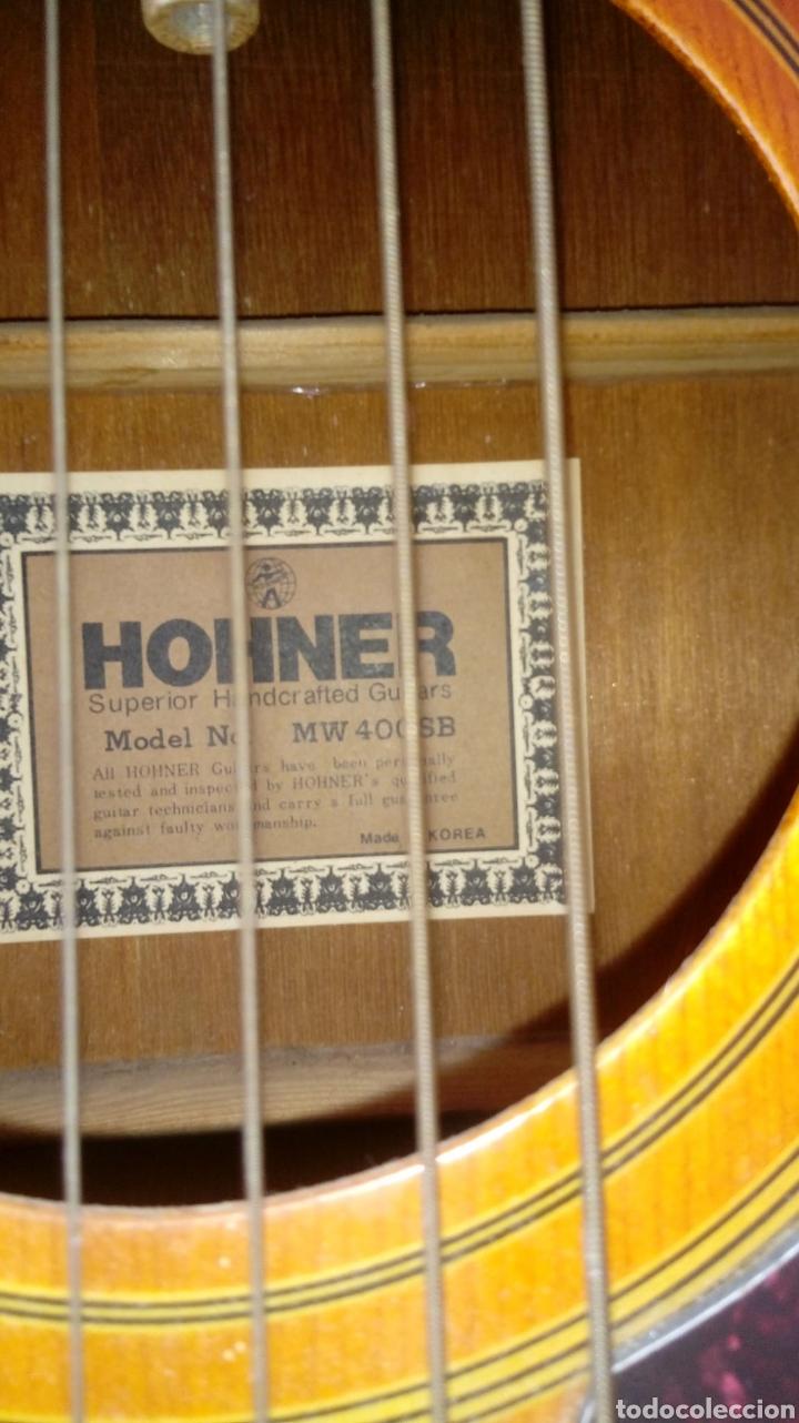 Instrumentos musicales: Guitarra acústica honner vintage - Foto 2 - 224366733