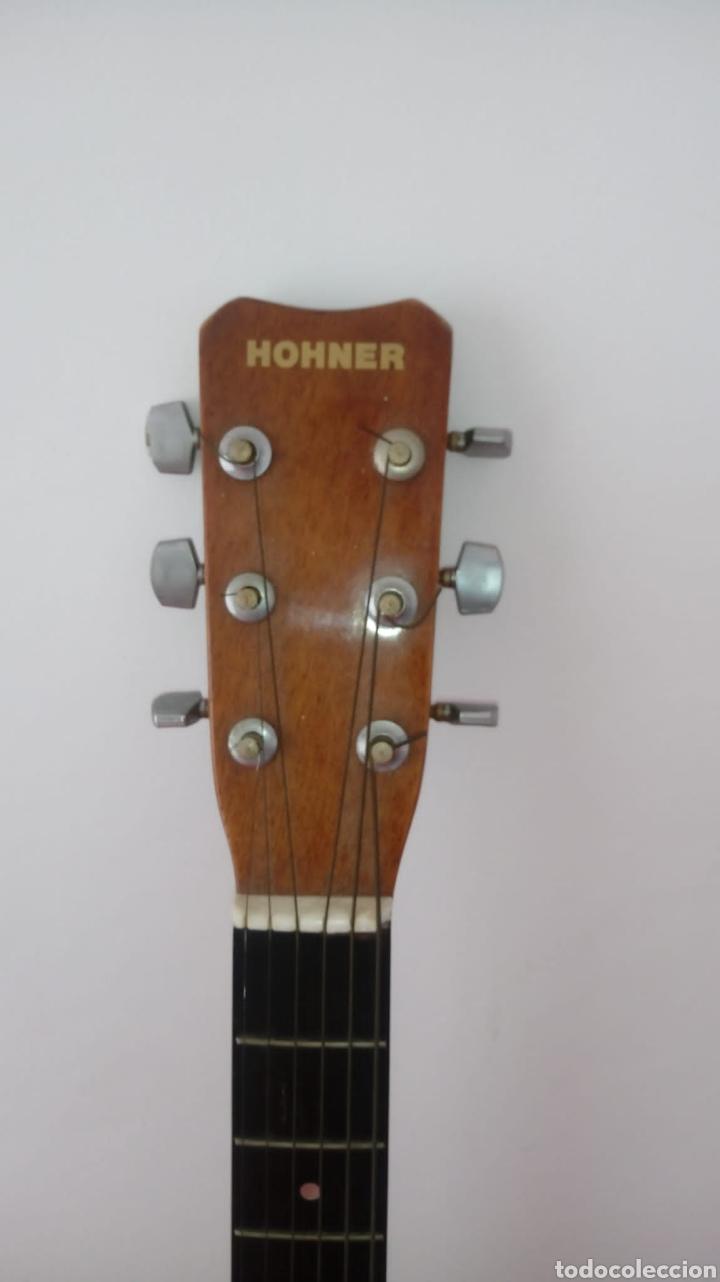 Instrumentos musicales: Guitarra acústica honner vintage - Foto 3 - 224366733