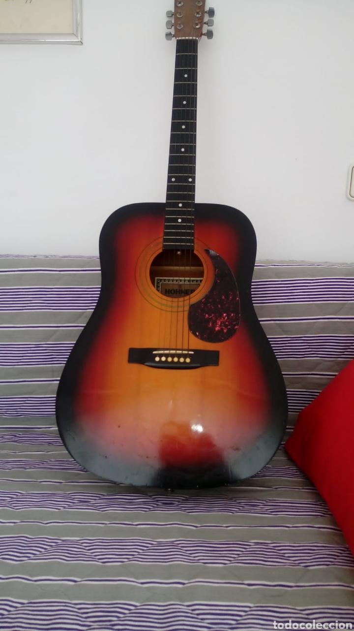 GUITARRA ACÚSTICA HONNER VINTAGE (Música - Instrumentos Musicales - Guitarras Antiguas)