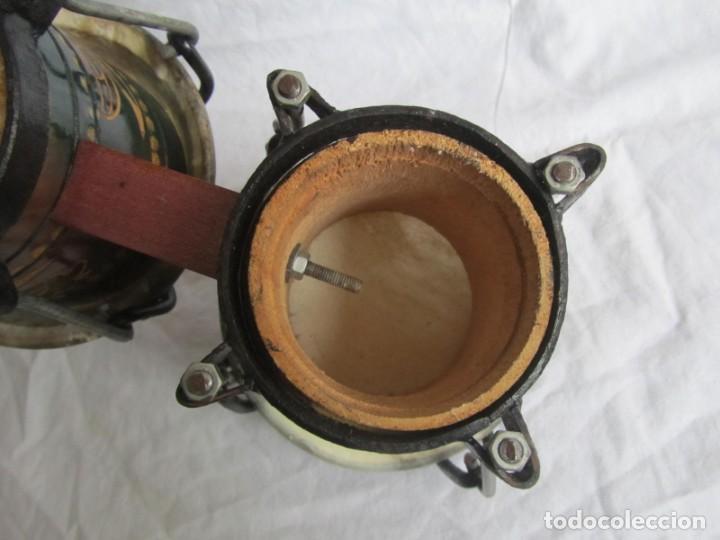 Instrumentos musicales: Pareja de tambores de madera, piel e hierro, Cuba - Foto 9 - 224607607