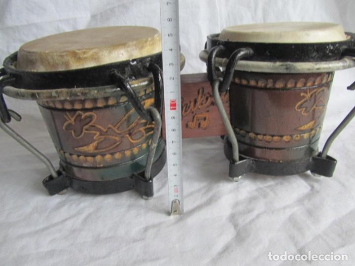 Instrumentos musicales: Pareja de tambores de madera, piel e hierro, Cuba - Foto 10 - 224607607