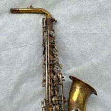 Instruments Musicaux: SOLOIST. SAXOFÓN SOLOIST ANTIGUO. Lote 224678316