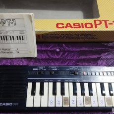 Instrumentos musicales: ÓRGANO CASIO PT1 AÑOS 80. Lote 224781750