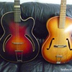 Instrumentos Musicais: GUITARRAS JAZZ FRAMUS Y HOPF PARA RESTAURAR. Lote 225541615