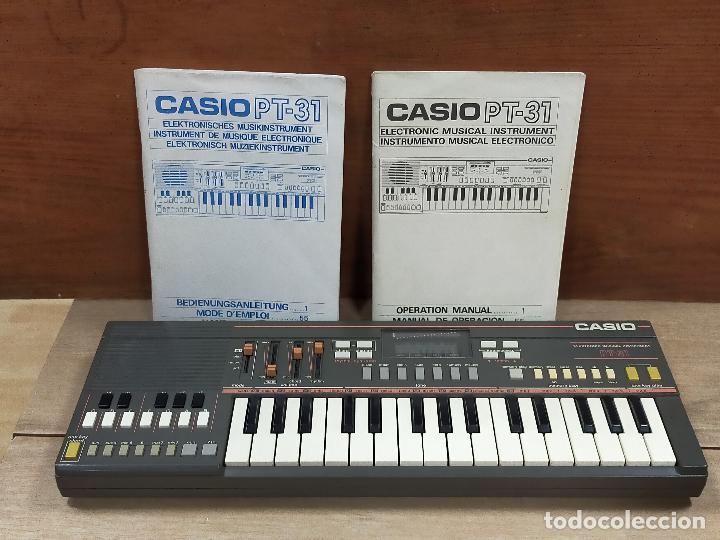 TECLADO CASIO PT31 (Música - Instrumentos Musicales - Pianos Antiguos)