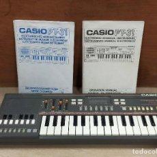 Instrumentos musicales: TECLADO CASIO PT31. Lote 225804360