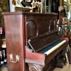 Instrumentos musicales: PIANO MALAGUEÑO ANTIGUO FABRICADO POR LÓPEZ Y GRIFFO (CIRCA SIGLO XIX - XX). Lote 225873165