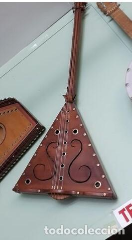 GUITARRA MEDIEVAL ARTESANAL..FUNCIONAL (Música - Instrumentos Musicales - Cuerda Antiguos)
