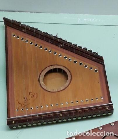 CITARA..INSTRUMENTO MUSICAL MEDIEVAL. (Música - Instrumentos Musicales - Cuerda Antiguos)