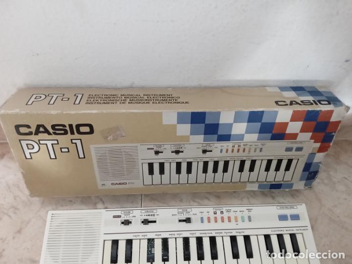 Instrumentos musicales: TECLADO piano CASIO PT1 PT-1 BLANCO - Foto 2 - 226284258