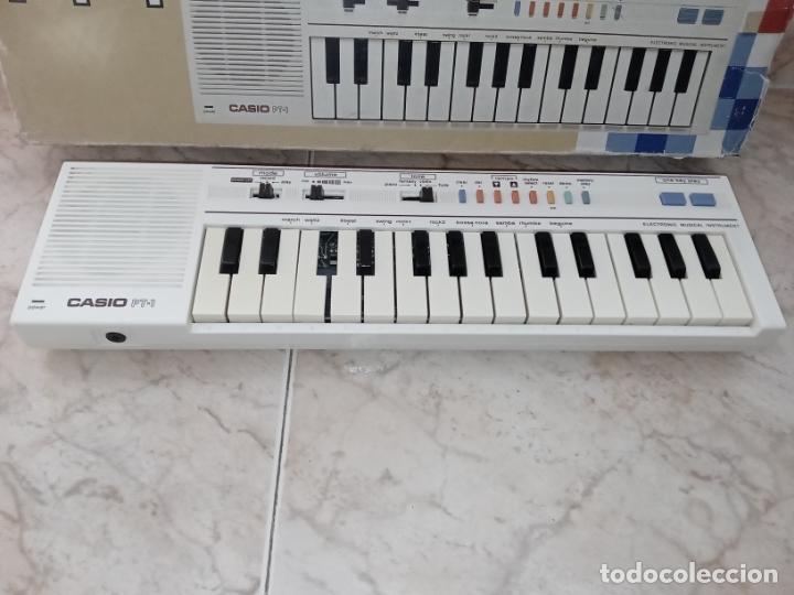 Instrumentos musicales: TECLADO piano CASIO PT1 PT-1 BLANCO - Foto 3 - 226284258