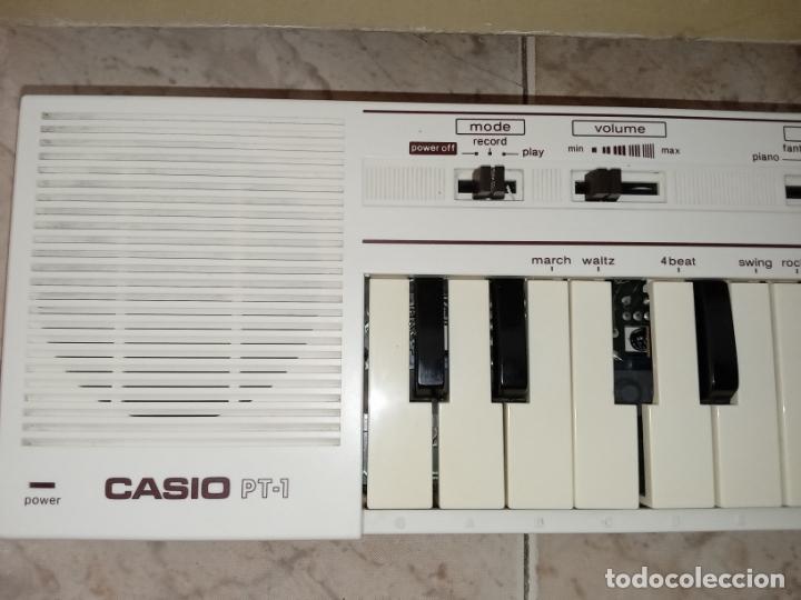 Instrumentos musicales: TECLADO piano CASIO PT1 PT-1 BLANCO - Foto 4 - 226284258