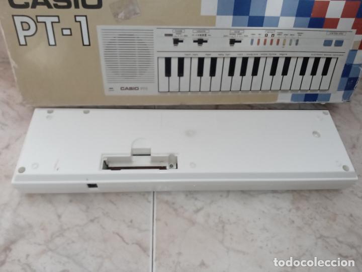 Instrumentos musicales: TECLADO piano CASIO PT1 PT-1 BLANCO - Foto 9 - 226284258