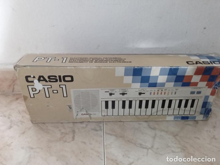 Instrumentos musicales: TECLADO piano CASIO PT1 PT-1 BLANCO - Foto 11 - 226284258