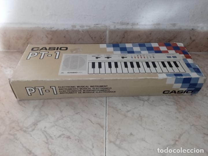 Instrumentos musicales: TECLADO piano CASIO PT1 PT-1 BLANCO - Foto 12 - 226284258