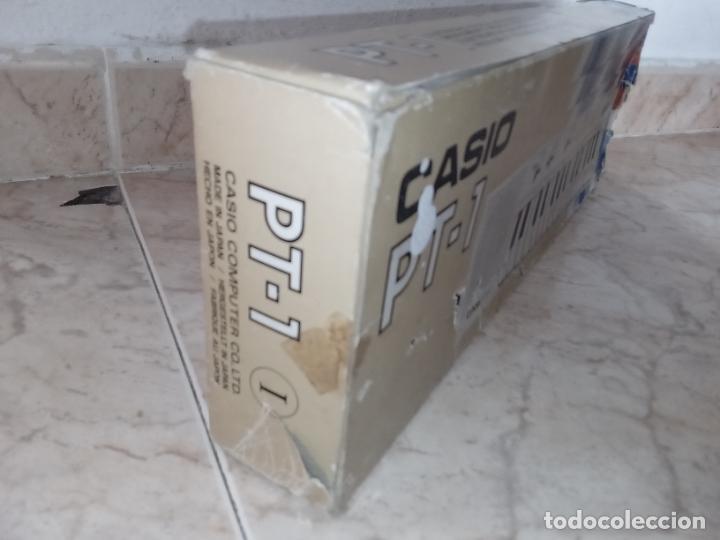 Instrumentos musicales: TECLADO piano CASIO PT1 PT-1 BLANCO - Foto 13 - 226284258