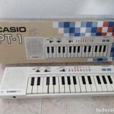 Instrumentos musicales: TECLADO PIANO CASIO PT1 PT-1 BLANCO. Lote 226284258