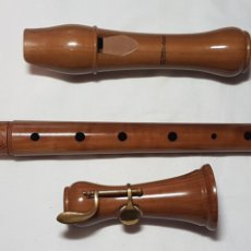 Instrumentos musicales: FLAUTA DE PICO ALTO TH MOLLENHAUER. Lote 243382260