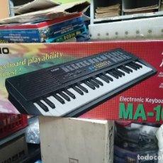 Instrumentos musicales: TECLADO CASIO * MA-100 * EN CAJA ORIGINAL, PROVIENE DE JUGUETERIA CERRADA * AR-1. Lote 226637095