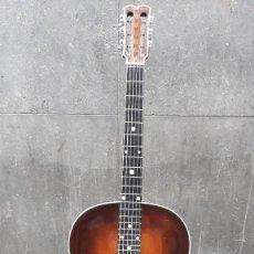 Instrumentos musicales: GUITARRA JAZZ DOMINGOS FERREIRA CAPELA LUTHIER 1944. Lote 228191625