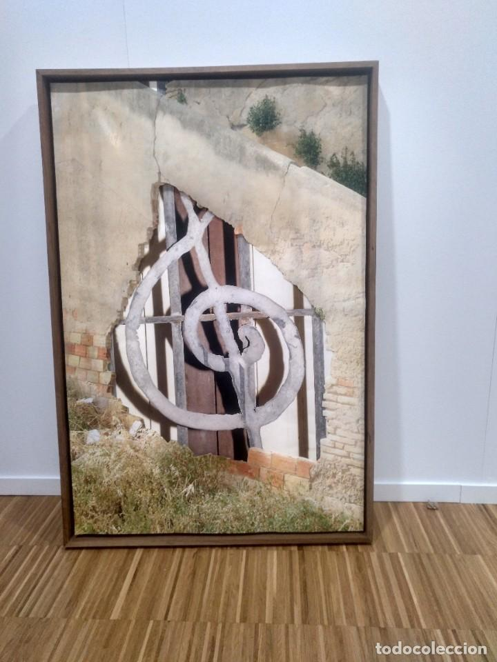 """Instrumentos musicales: Piano SAMICK IMPERIAL - Collage """"Motivo Musical"""" Expo-Arte- Lampara articulada con baño oro -....... - Foto 9 - 226400402"""