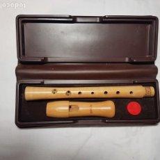 Instrumentos Musicais: FLAUTA DE PICO SOPRANO MOECK BARROCA. Lote 228805085