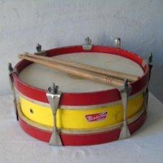 Instrumentos musicales: PERCUSION TAMBOR ANTIGUO EN BUEN ESTADO. Lote 228827335