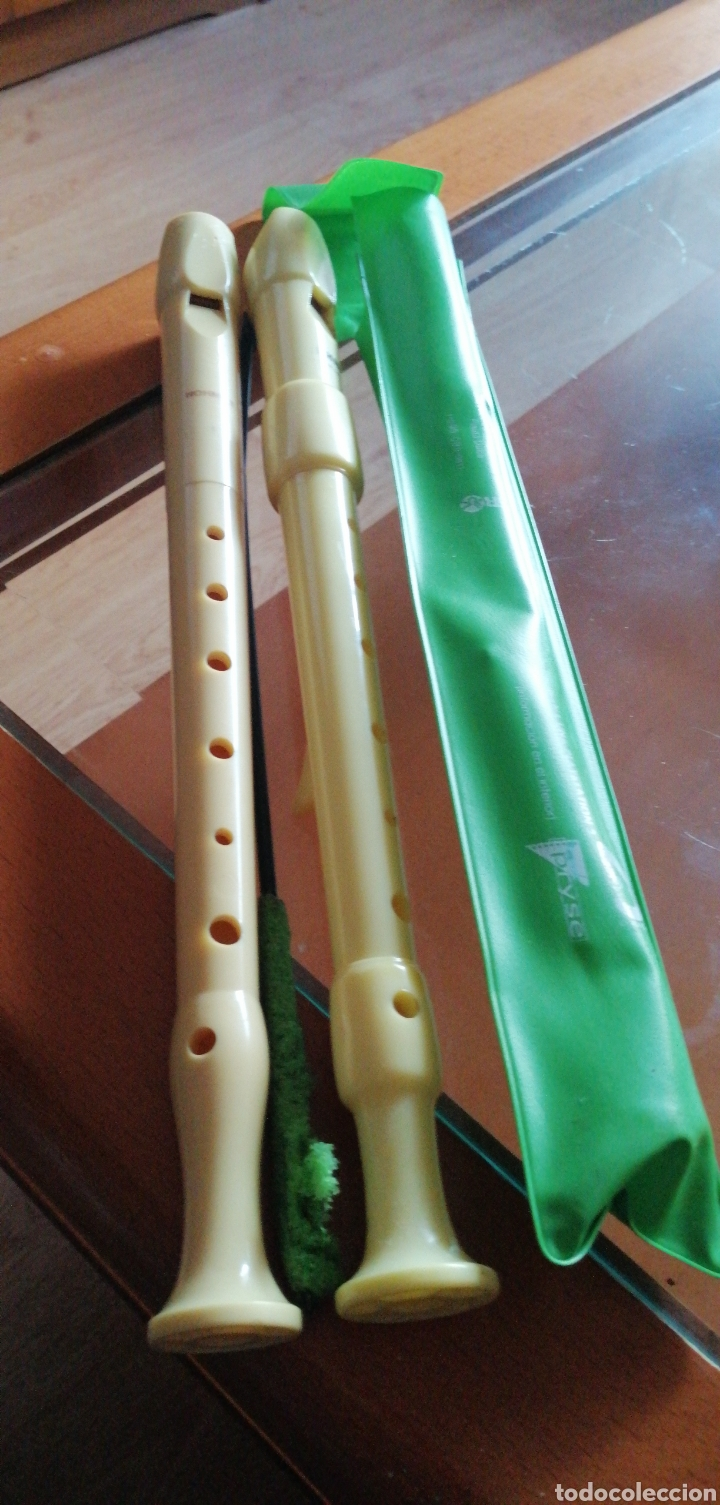 Instrumentos musicales: Dos flautas marca HOHNER MADE IN GERMANY - Foto 2 - 229062800
