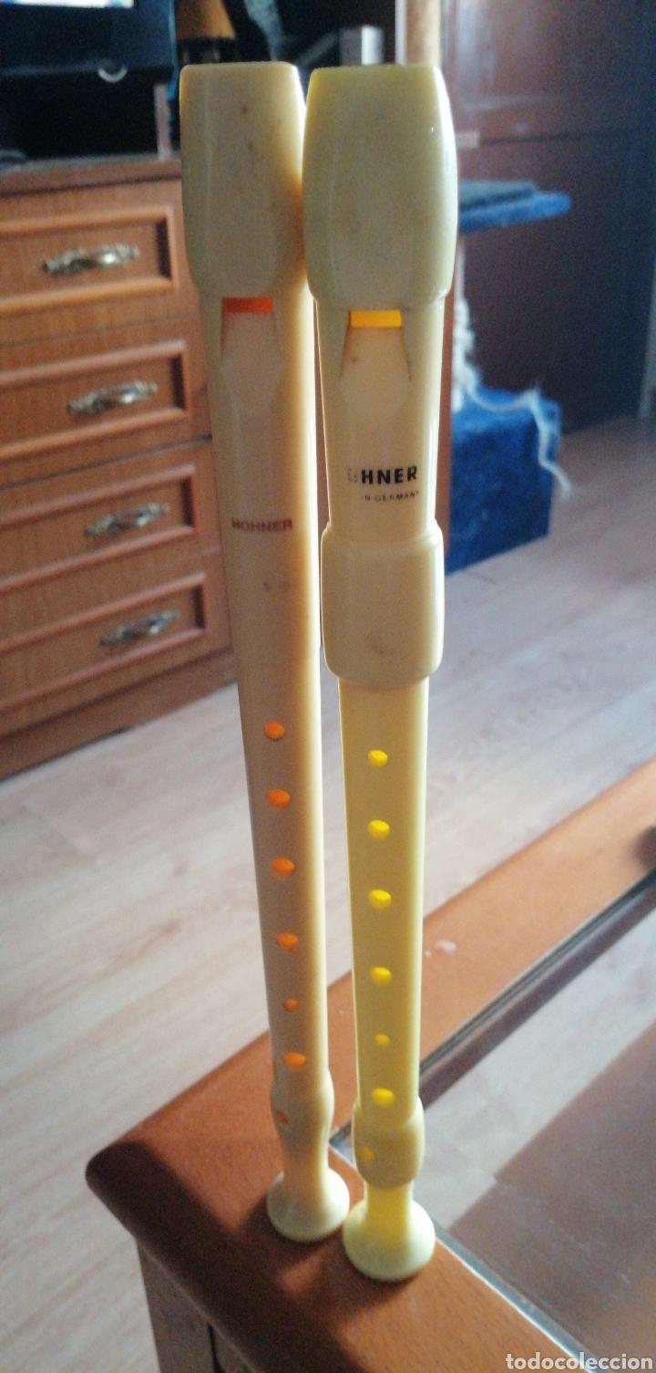 Instrumentos musicales: Dos flautas marca HOHNER MADE IN GERMANY - Foto 4 - 229062800